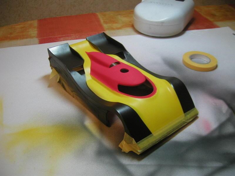 Покраска Mini-Z