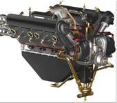 Нажмите на изображение для увеличения Название: Hispano_Suiza_V8_2.jpg Просмотров: 146 Размер:65.3 Кб ID:84973