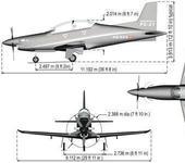 Нажмите на изображение для увеличения Название: Products_PC21_AircraftData_3view_550x299px.jpg Просмотров: 205 Размер:21.1 Кб ID:102790