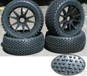 Нажмите на изображение для увеличения Название: NIB Racingspike BKS Pre-Mounted 1.8 Buggy Tires Glued.JPG Просмотров: 21 Размер:35.6 Кб ID:220160