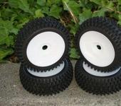 Нажмите на изображение для увеличения Название: NIB Mohawk WD Pre-Mounted 1.8 Buggy Tires Glued.JPG Просмотров: 24 Размер:26.5 Кб ID:220162