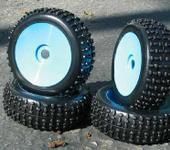 Нажмите на изображение для увеличения Название: NIB Sport Spike BLD Pre-Mounted 1.8 Buggy Tires Glued.JPG Просмотров: 28 Размер:31.4 Кб ID:220165