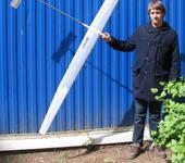 Нажмите на изображение для увеличения Название: Студент гр. 01-412 Антон Горский с моделью.jpg Просмотров: 105 Размер:83.3 Кб ID:267434