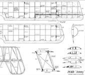 Нажмите на изображение для увеличения Название: curtiss-jn-4d-jenny-biplane-plans-2.jpg Просмотров: 92 Размер:75.2 Кб ID:371089