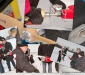 Дорошенко показывает молодым, как надо заводить моторы...  Ему и стартер не нужен... 31 декабря 2008