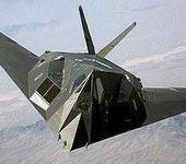 Нажмите на изображение для увеличения Название: 300px-F-117_Nighthawk_Front.jpg Просмотров: 23 Размер:15.6 Кб ID:582298