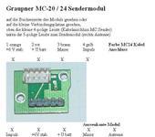 Нажмите на изображение для увеличения Название: MC-24 Sendemodul Buchenbelegung.jpg Просмотров: 53 Размер:31.5 Кб ID:612354