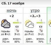Нажмите на изображение для увеличения Название: погода 17_11_2012.jpg Просмотров: 9 Размер:39.4 Кб ID:716733