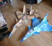 Нажмите на изображение для увеличения Название: Rafale-&-Su-37.jpg Просмотров: 35 Размер:64.1 Кб ID:783659