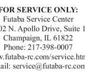 Нажмите на изображение для увеличения Название: Futaba service.png Просмотров: 10 Размер:40.3 Кб ID:831956