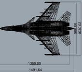 Нажмите на изображение для увеличения Название: su-33-1350x1000.jpg Просмотров: 57 Размер:124.3 Кб ID:856967