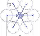 Нажмите на изображение для увеличения Название: Гексакоптер ST вариант 1.jpg Просмотров: 27 Размер:70.3 Кб ID:866958