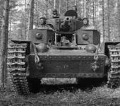 Нажмите на изображение для увеличения Название: T-28 в лесу1.jpg Просмотров: 176 Размер:103.6 Кб ID:880930