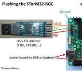 Нажмите на изображение для увеличения Название: 800px-Stom32-bgc-flashing-w-usbttladapter-connections-02.jpg Просмотров: 219 Размер:65.7 Кб ID:1063593