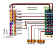 Нажмите на изображение для увеличения Название: Выходы приемника CX-20.jpg Просмотров: 17 Размер:88.4 Кб ID:1170960