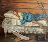Нажмите на изображение для увеличения Название: Владимир Переяславец. «Налетался». 1957 г..jpg Просмотров: 41 Размер:42.5 Кб ID:1268713