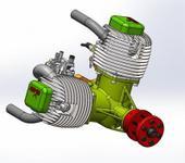 Нажмите на изображение для увеличения Название: М-50 Сборка двигателя-V04-01.jpg Просмотров: 17 Размер:41.0 Кб ID:1311746