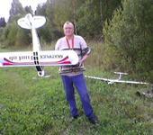 Нажмите на изображение для увеличения Название: Самолет фото 6 сентября 2014 на даче я с Фанкабом.jpg Просмотров: 61 Размер:119.1 Кб ID:1452465