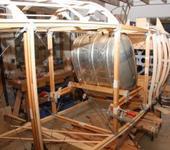Нажмите на изображение для увеличения Название: SC-Fuselage-fitting-the-main-fuel-tank-and-trying-side-frames.jpg Просмотров: 181 Размер:72.9 Кб ID:1468050